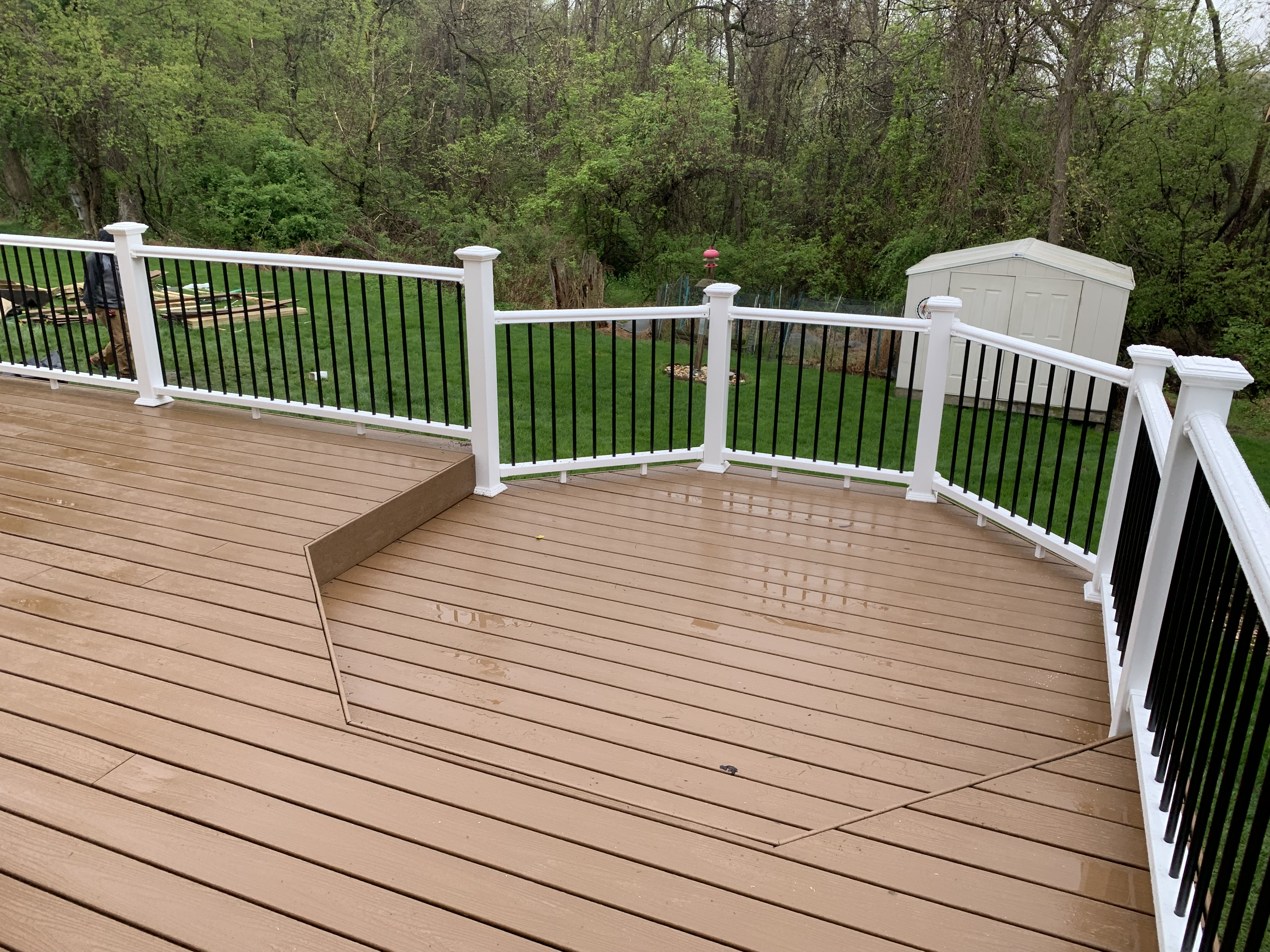 Resurfacing services can make your old deck look new again